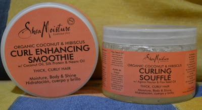 Cabelo Afro: Curl Enhancing Smoothie + Curling Soufflé