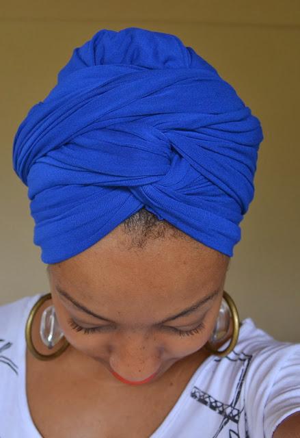 Cabelo Afro: Turbante 4