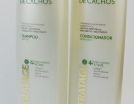 Cabelos Crespo: Linha TRATAGE – Shampoo e Condicionador