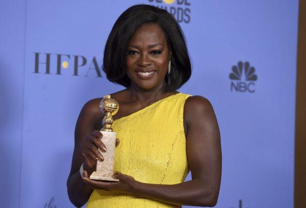 As Negras no Globo de Ouro 2017