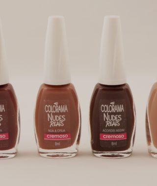 Coleção Colorama Nudes Reais – cores Assumida e Explícita