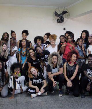 Negra Rosa e o Projeto #belezasemfronteiras