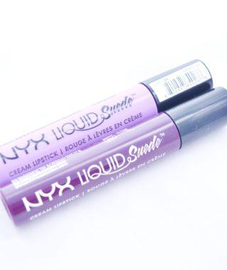 NYX Liquid Suede Cream Lipstick SWAY e SUBVERSIVE SOCIALITE