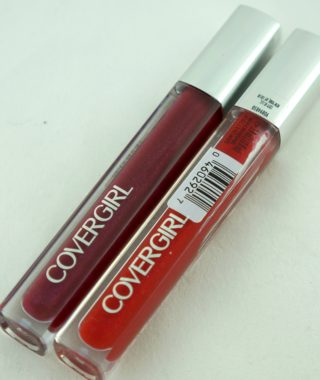 Gloss Covergirl – Craving Cranberries e Sweet Strawberry