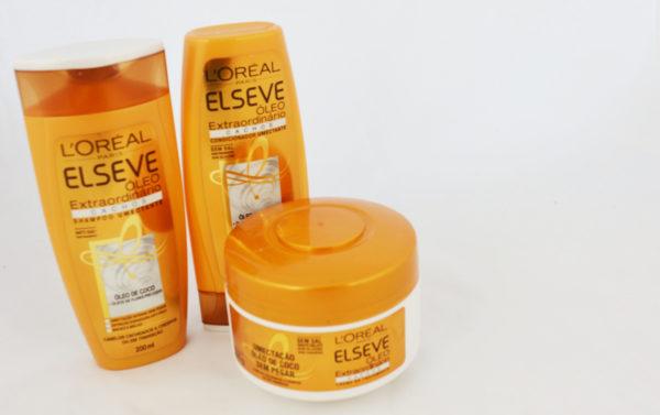 c88e8d200 Linha Elseve Óleo Extraordinário Cachos -Shampoo, Condicionador e ...