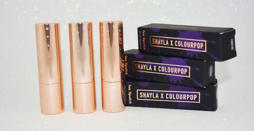 SHAYLA X COLOURPOP – Batons QUICKIE, OOUUUU! e C'MON SIS